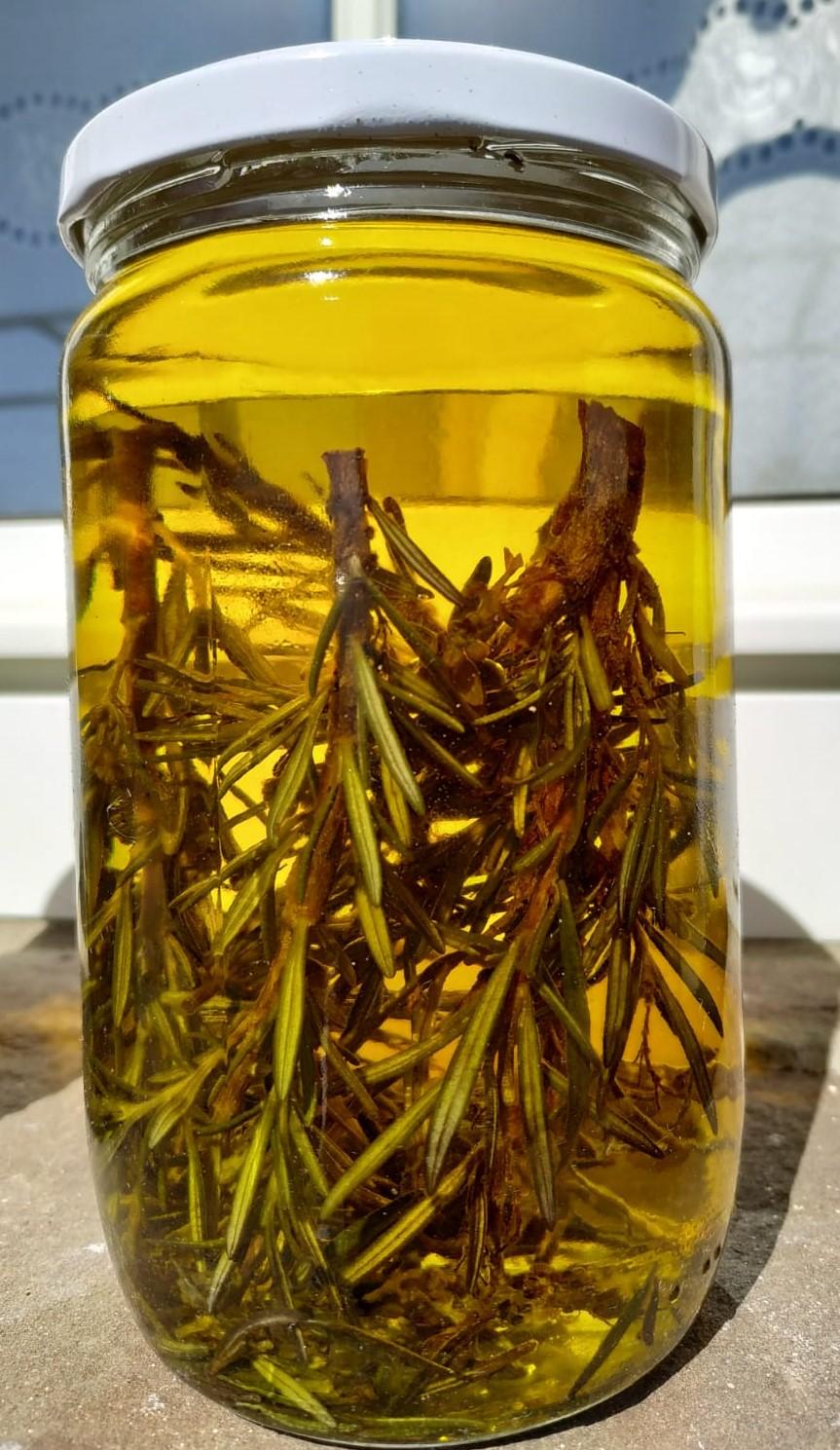 romero macerado aceite jabon castilla